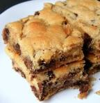 cookies, chocolate chip bars, time, baking