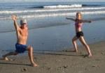 ocean, time, yoga