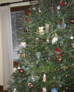 Christmas tree, home for Christmas, snowy Christmas, happy holidays