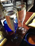 champagne, congratulations, friendships, writing, publishing