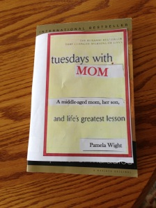 writing, books, Tuesday with Morrie, mother and son