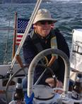 sea captain, sailing, sailing on the San Francisco Bay, brother