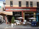 Cafe de la Presse, San Francisco dining, French restaurant