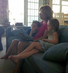 reading time, books, children's books, grandmothering
