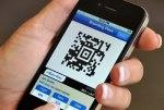 boarding pass, smart phone, boarding scan
