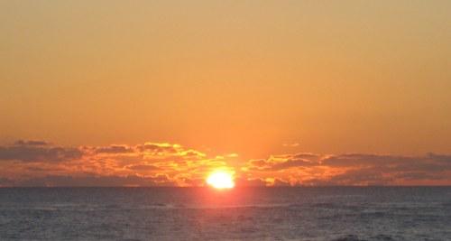 sunset, splash
