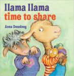 Llama Llam time to share, grandkids, reading, books