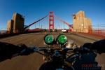 golden gate bridge, motorcycle cop