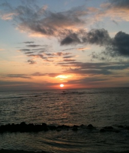 sunset, life, sea, ocean