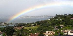 S.F. Bay Rainbow by Pamela S. Wight