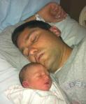 A Dad Naps.