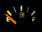 gas tank, empty