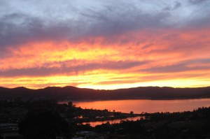 Sunset by Pamela S. Wight