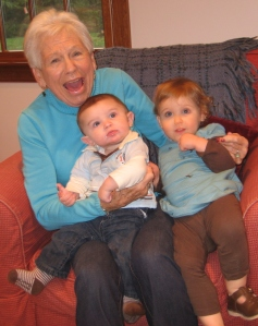 jeans, genes, grandmother