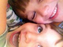 grandchildren, happy kids