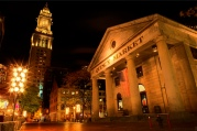 Quincy Market, Boston, dining