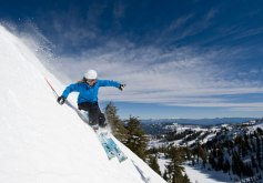 Lake Tahoe, Squaw Valley, skiing