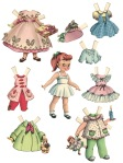 paper dolls, childhood, play