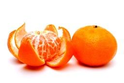 tangerine, unpeeling