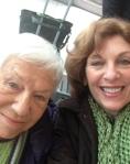 mother/daughter selfie