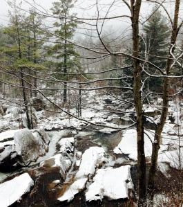 snowfall, New Hampshire, winter