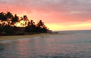 sun, sunrise, Kauai