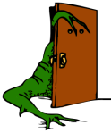 monster behind the closet, book club, writing