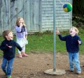 play, children play, ball