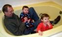 play, bath, grandparenting