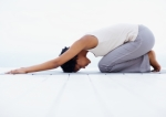 child's pose, yoga, relax