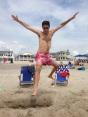 play, beach, summer, Ocean City NJ