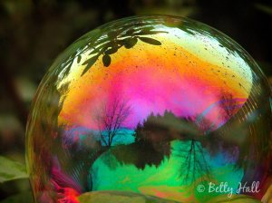 fantasy, magic bubble