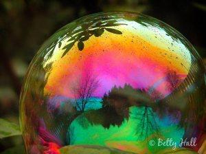 fantasy, magic bubble