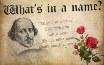 Shakespeare, creative writing, what's in a name