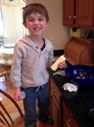 baking, grandchildren, chocolate chip cookies