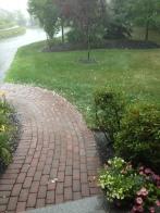 hail, summer storm