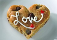 cookies, baking with love