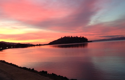 sunrise, San Francisco Bay, spiritual