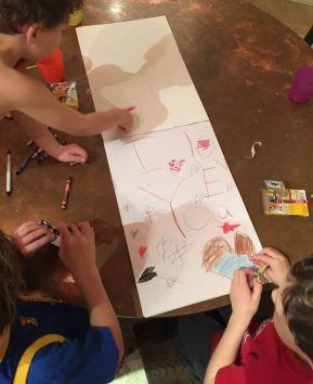 writing Valentines, children's Valentine poem,