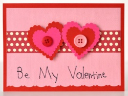 children's Valentine card