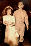 1940s wedding, marriage, long-time love
