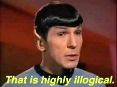 Mr. Spock, illogical, life