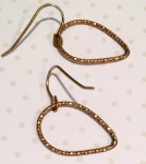 earrings, gold hoops, ear piercing