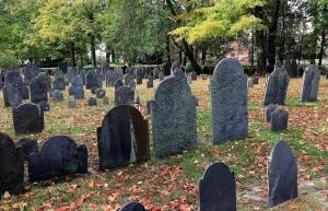 Concord MA, graveyard