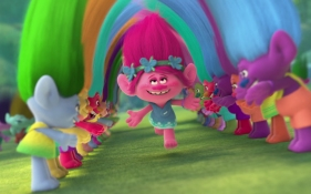 Trolls, Happiness, family movie time