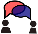 conversation, dialogue