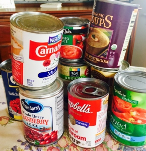canned goods, love story