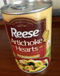 artichokes, canned artichoke, flash fiction