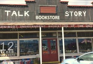 flash fiction, bookstore, Kauai, Talk Story Bookstore