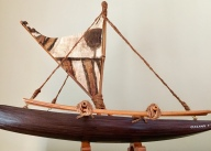 Hawaiian miniature boat